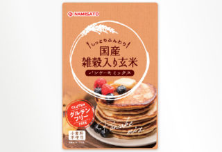 国産雑穀入り玄米パンケーキミックス 200g
