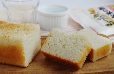 おうちで簡単!もっちり米粉食パン(小麦不使用)